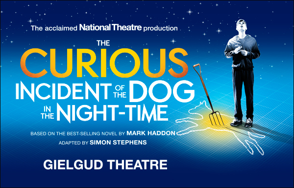 the curious incident of the dog in the night time at the gielgud show curiousincidentdognight
